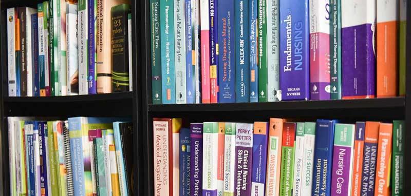 healthcare career school books